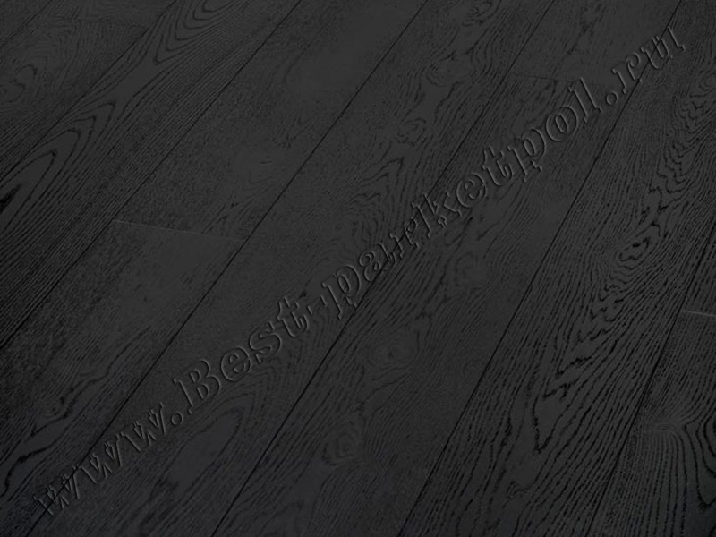 ДУБ  BRUSHED  PLANK 185  DARK COLLECTION Wenge лак/масло (доска однополосная)