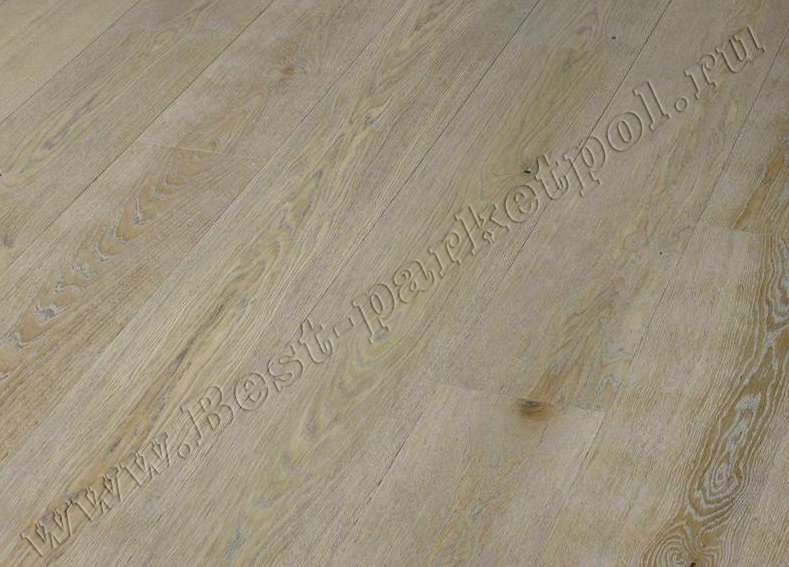 ДУБ  CLASSIC  BRUSHED  PLANK 185 Clay Grey масло  (доска однополосная)