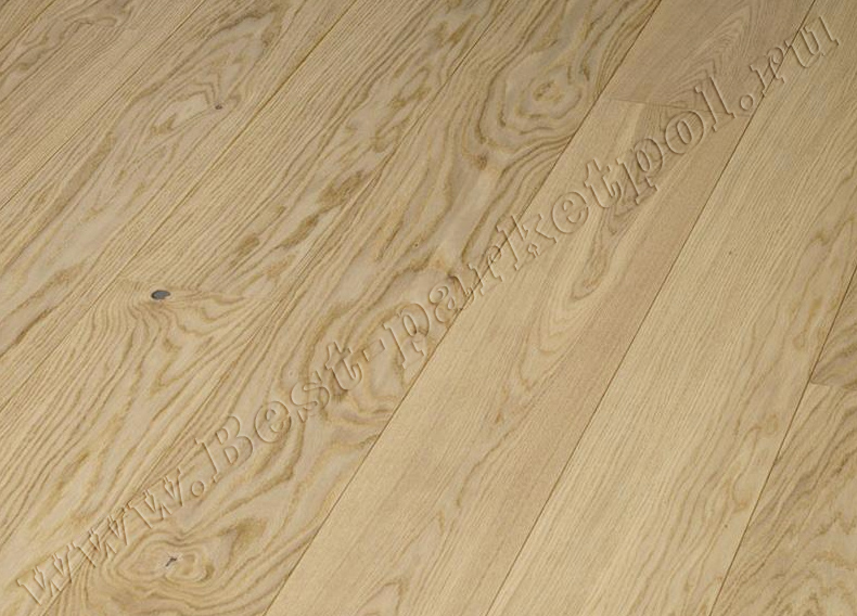 ДУБ  CLASSIC  BRUSHED  PLANK 185 Nordic лак/масло (доска однополосная)