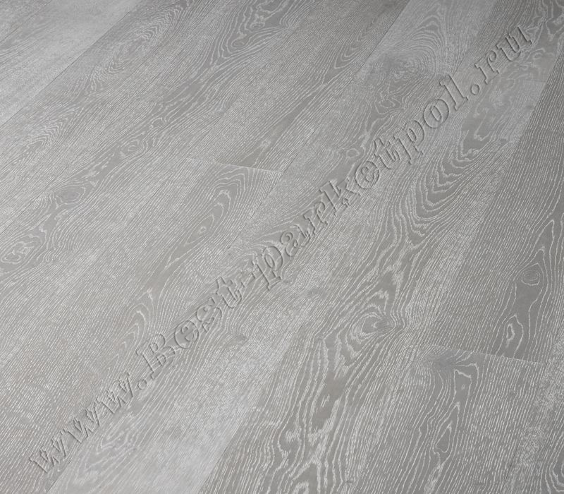ДУБ  CLASSIC  BRUSHED  PLANK 185 Silver масло (доска однополосная)