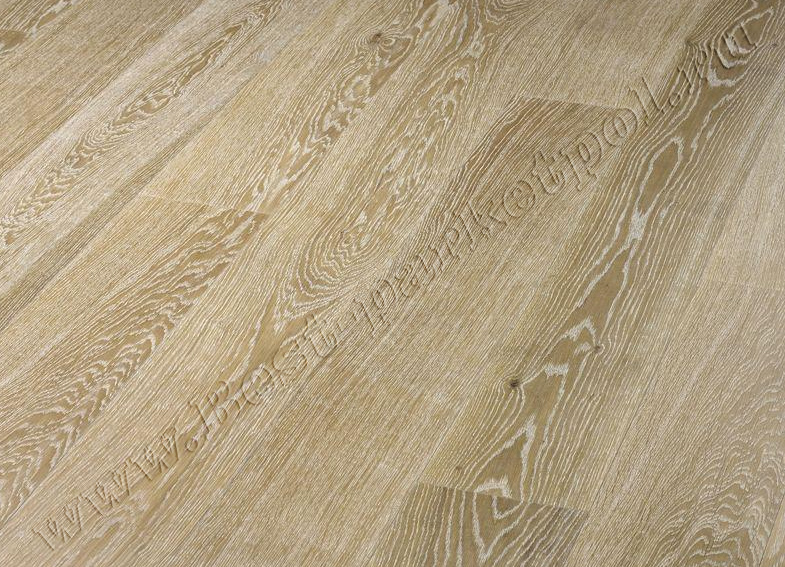 ДУБ  RUSTIC  BRUSHED  PLANK 185 Arctic  масло (доска однополосная)