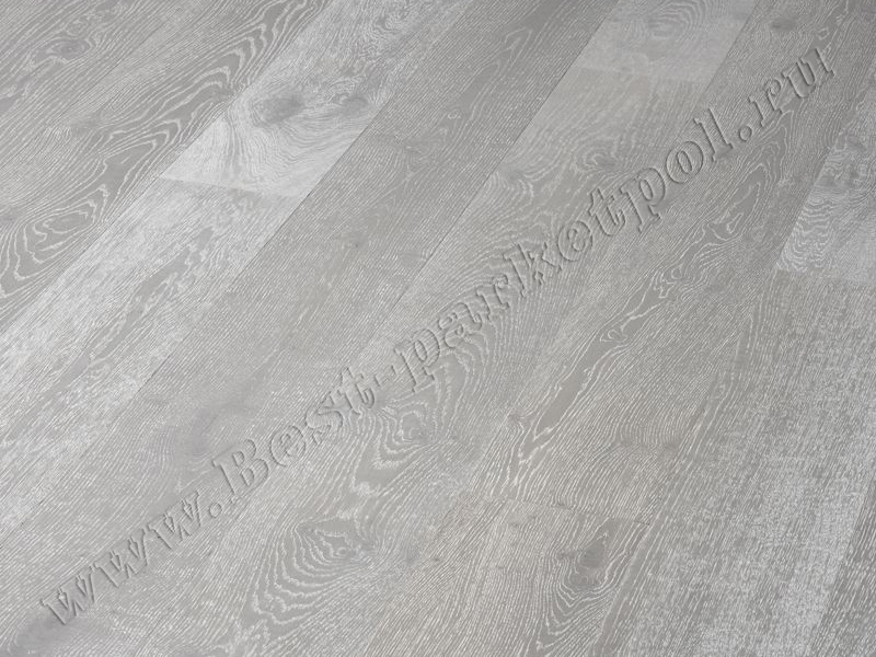 ДУБ  RUSTIC  BRUSHED  PLANK 185 Silver  масло (доска однополосная)