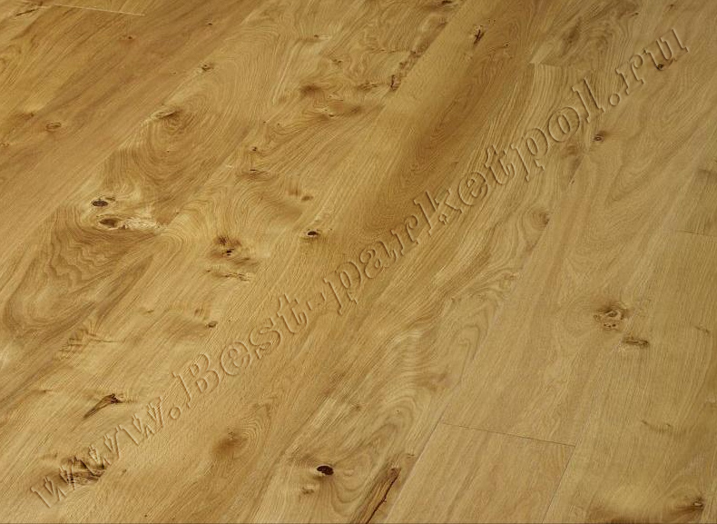 ДУБ  RUSTIC  BRUSHED  PLANK 185 масло (доска однополосная)